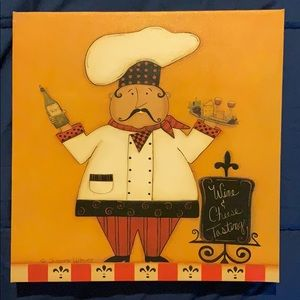 Scherry Talbott Chef wall art